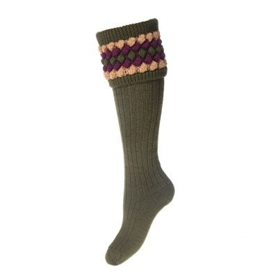 lady angus sock olive