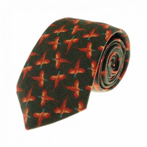 pheasant-tie-w48024-green