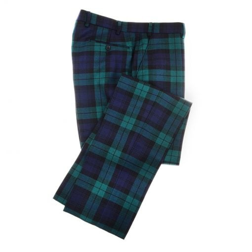 tartan trousers blackwatch