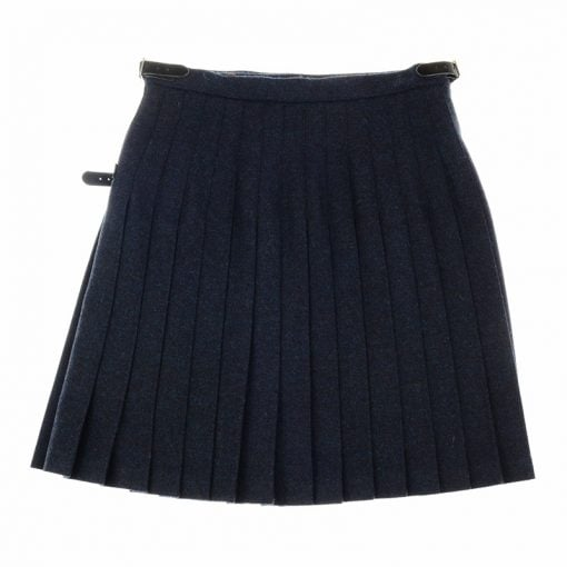 tweed mini kilt midnight and ocean 2