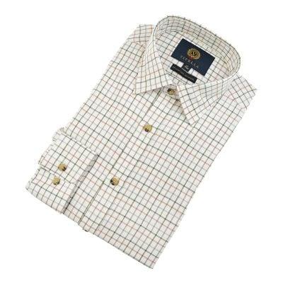 viyella shirt lovat vy0110 168