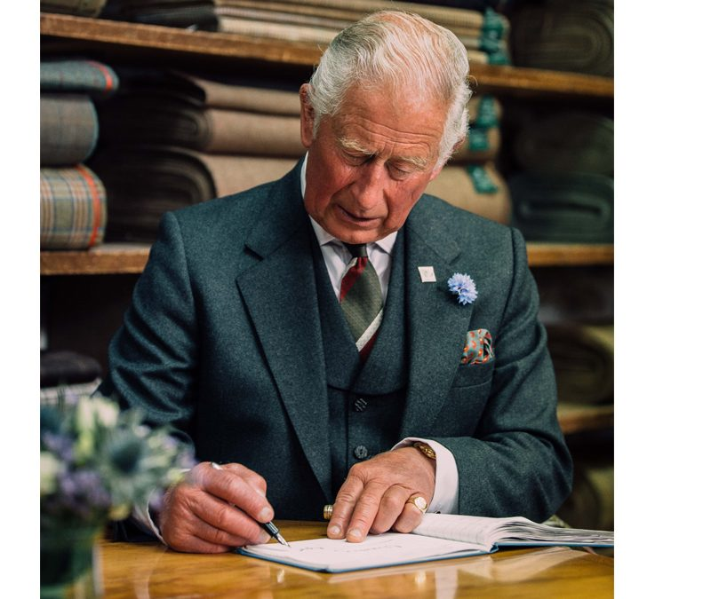 Tailoring Workshop Opening by HRH The Prince Charles, Duke of Rothesay