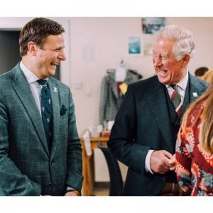 john-sugden-and-hrh-in-the-original-tailoring-workrooms
