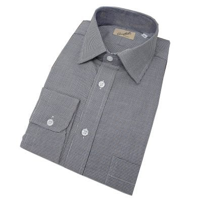 houndstooth-shirt-brownblue