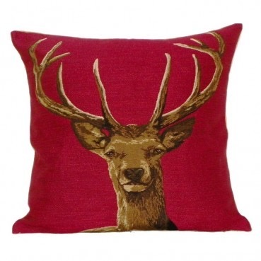 red stag cushion