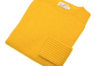 ladies geelong crew neck jumper colour goldeneye