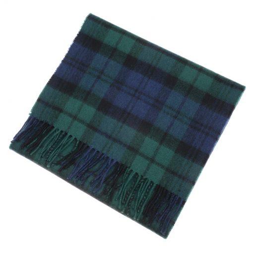 blackwatch tartan scarf