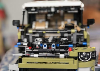technic landrover assembly