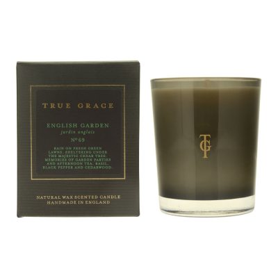 english garden scented candle