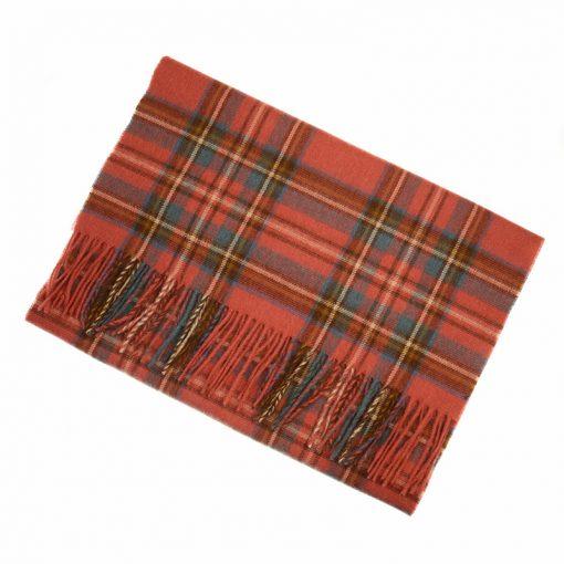 antique royal stewart tartan scarf