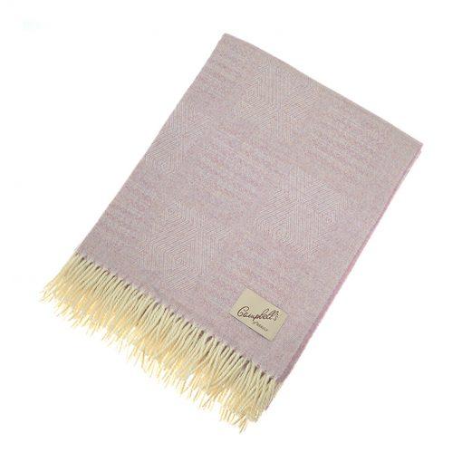 lilac blanket