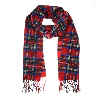 royal stewart cashmere scarf
