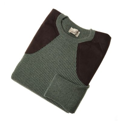 green shooting jumper