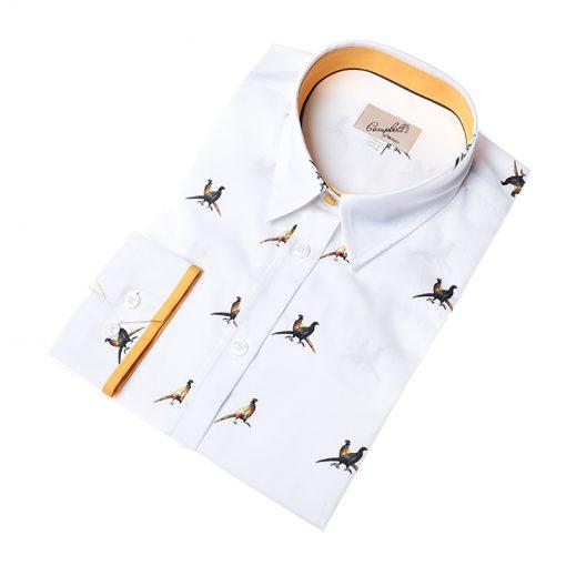 small pheasants shirt
