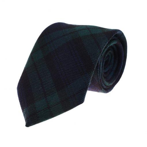 blackwatch tartan tie