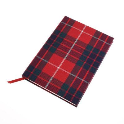 fraser tartan notebook