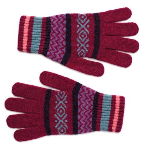 fairisle gloves
