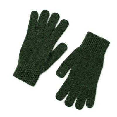 lamsbwool gloves green