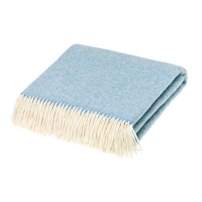 parquet blanket aqua